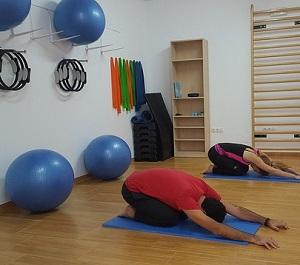 Ulike øvelser med en treningsball